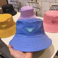 Women Men Designer Bucket Cap Party Hat Baseball Caps Beanie Casquettes Fisherman Buckets Hats Patchwork High Quality Summer Sun Visor HH21-233