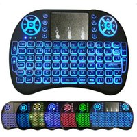 Wireless Mini i8 Keyboard Backlit Backlight Remote Control For Android TV Box 2.4G Touch Pad English Spanish French