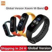 2020 Xiaomi Mi Band 5 Smart Bracelet 4 Color AMOLED Screen Miband 5 Fitness Tracker Sport Waterproof Smartband Bluetooth 5.0