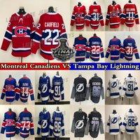 Montreal Canadiens Jersey Tampa Bay Lightning 22 Cole Caufield 14 Nick Suzuki 31 Carey Price 86 Nikita Kucherov 77 Victor Hedman 21 Brayden Point hockey jerseys