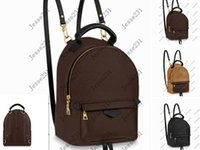 2021 High Quality Fashion Leather Mini size School Bags Women and Children Backpack Springs Lady Travel Outdoor Bag 4colors