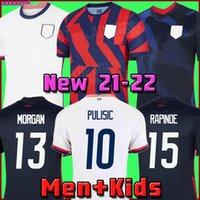 2021 PULISIC MCKENNIE Soccer Jersey AARONSON MUSAH 2020 PRESS Sargent MORGAN LLOYD America Football jerseys United States Shirt Camisetas LLETGET DIKE MEN + KIDS