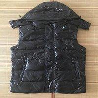 New Designer Men and women winter down vest Classic feather weskit jackets Men's Vests casual vests coat