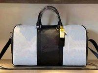 Presbyopic Bump Color Bag Man General Single Men and Women Shoulder Boys Duffel Duffle Hand Luggage Travel Bags Backpacks 50cm Handbag