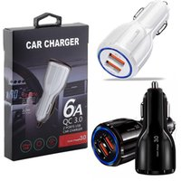 3.1A Quick Charge car charger Dual USB Port Fast chargers for smart phone pc