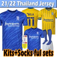 21 22 Birmingham Lukasz Jutkiewicz Soccer Jersey 2021 2022 Sam Gallagher jerseys Men Kids Kits socks full sets home away football shirts thailand