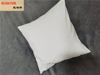 Sublimation Square Pillowcase Heat Transfer Printing Pillow Covers Sublimation Blanks Pillow Cushion 40X40CM Polyester Pillow Covers
