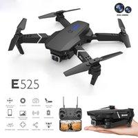 Intelligent Uav LS-E525 Drone 4k HD Dual-Lens Remotecontrol Mini Drones WiFi 1080p Real-time Transmission FPV Dual Cameras Foldable RC Quadcopter Toys
