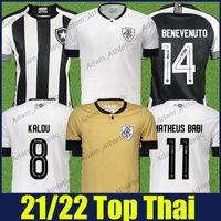 camisa de Botafogo soccer jerseys 2021 22 HONDA KALOU M.BENEVENUTO MATHEUS BABI football jersey PEDRO RAUL VICTOR LUIS fans shirts 21 22 short sleeves quick drying Top