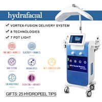 2021 hydra facial water microdermabrasion deep cleansing hydrafacial machine oxygen mesotherapy gun RF lift skin rejuvenation hydrofacial