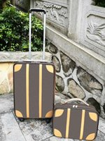 """Suitcases for women 20"""" carry on luggage four wheels men trolley rolling bag luggages sets"""