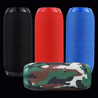 TG117 Wireless Bluetooth Speaker Portable Plug-in Card Outdoor Sports Audio Double Horn Waterproof Speakers 7 Colors In Stock