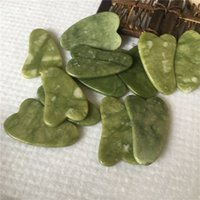 Jade Massage Tool Guasha Board Gua Sha Facial Treatment Natural Jades Stone Scraping Healthy Care Tools