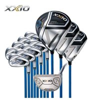 Full Set XXIO MP1100 Golf Clubs Driver+ Fairway woods+ Irons + Putter with Headcovers R SR S Flex Available