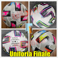 Top quality 20 Euro Cup size: 4 Soccer ball 2021 Uniforia Finale Final KYIV PU size 5 balls granules slip-resistant football high In stock