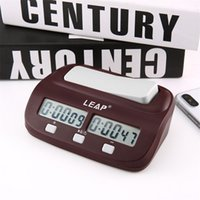 2020 Professional Compact Digital Chess Clock Count Up Down Timer Electronic Board Game Bonus Competition Master Tournament free LJ201212