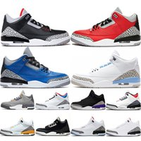 Basketball Shoes Jumpman Mens Trainers Black Cement SE Fire Red Court Purple Varsity Royal UNC Cool Grey Sneakers Sports Size 40-47