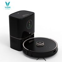 VIOMI-Robot Vacuum Cleaner S9 with 950W, Intelligent Automatic Dust Collector, LED Display, 2700Pa, for Sweeping and Scrubbing Floor Mats