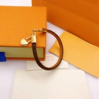 2021 Various Styles Fashion Bracelets Jewelry Women Leather Unisex Designer Snap Braceltes Letter Couple Bracelet