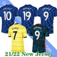 Size:S-4XL 21 22 LUKAKU WERNER PULISIC ZIYECH Soccer Jersey 2021 Home MOUNT KANTE HAVERTZ CHILWELL GIROUD LOFTUS-CHEEK AZPILICUETA Football Shirt Uniform