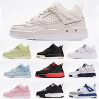 Jointly Signed High OG 4s Kids Basketball shoes Chicago 4 Infant Boy Girl Sneaker Toddlers Fashion Baby Trainers Children footwear
