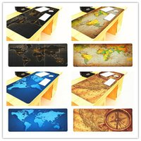 portable fold World Map Mouse Pads Gaming Large mousepad Gamer Big Computer Mat Office Desk Wrist Rests for Game