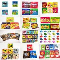 In stock Ready to Ship Edible Gummy Candy bags Food Packing gummies sour 3.5g mylar bag trrlli trolli errlli ONEUP