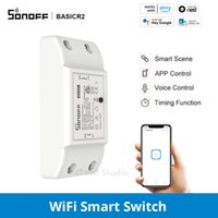 SONOFF BasicR2 Smart Home Automation DIY Intelligent Wifi Wireless Remote Control Universal Relay Module Works with eWelink