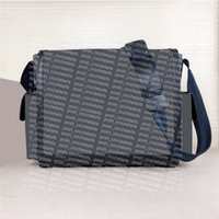 Coated Canvas Flap Shoulder Bags Genuine Leather Trim Diaper Bag Comes With Mat Quality Baby Changing Bolsa