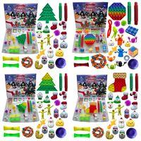 50%off Christmas Fidget Toy Favor Xmas Countdown Calendar Blind Boxes Sensory Pack Advent Calendar-Christmas Box T0903