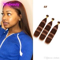 Wholesale Peruvian Human Hair Color Silky Straight Bundles Double Wefts Virgin Hair Extensions Pieces Yirubeauty