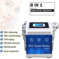 7 IN 1 Hydrafacial Machine Aqua Clean Microdermabrasion Professional Oxygen Facial equipment Crystal Diamond Water Peeling