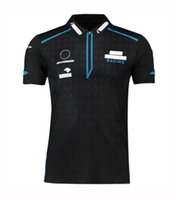 F1 Cycling Team Short Sleeve Polo Shirt Lapel T-shirt Racing Suit Fan Edition Team Suit Customized Quick Dry Polo Suit