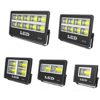 Outdoor LED FloodLight Fixture 800W 600W 500W 400W 300W IP66 Waterproof Exterieur COB Flood lights 90 Degree Beam Angle Spotlight