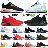 Big Size 49 270 Mens Running Shoes Worldwide Triple Black Golf White Gum Men Womens 27C Sports Sneakers Eur 36-49 Runner Outdoor Trainers