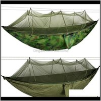 Discount mosquito outdoor tent Shelters 12 Person Portable Camping Tent Hammock Outdoor Awning Mosquito Net Canopy Sleep Strength Parachute Swing Bed Sleeping Tents Q7Pan