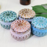 Scented Candle Jar Empty Small Round Tin Box Tinplate DIY Handmade Candles Tea Cookies Candy Chocolate Storage Boxes
