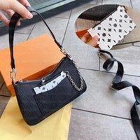 2021 Women Handbag Luxurys Designers Bags MARELLE Womens Underarm Chain Small Square Messenger Totes Fashion Adjustable Shoulder Strap Handbags Crossbody Tote