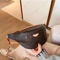 5A original Luxurys Designers Shoulder Bags Bumbag Cross Body Genuine leather fashion Belt Bag tote woemns purse pocket handbags free Fanny Pack Bum Waist