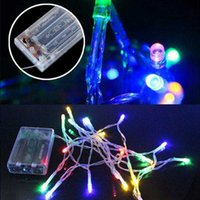 Led String Small Color Lights Flashing Light All Over the Sky Starry Star Outdoor Lighting Bar Wedding Decoration Lamp Festival Christmas Lamps