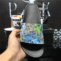 Top Quality Mens Womens Rubber Slipper Designer Slides Shoes Summer Beach Outdoor Cool Lady Slippers Fashion Women Wide Household Slide Flat Flip Flops With Box