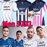 2021 2022 MONTERREY Soccer Jerseys rosa version RAYADOS R.Funes Mori M.MEZA V.JANSSEN AKELOBA S.VEGAS Liga mx 21 22 football shirt men women uniforms