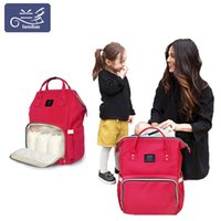 Landuo 26 colors Mommy Backpacks Nappies Bags Mother Maternity Diaper Backpack Large Volume Outdoor Travel Bags Organizer retail MPB01