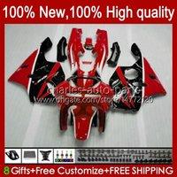 Fairings For KAWASAKI NINJA ZX 6R 636 600CC 600 CC ZX-636 ZX6R 94 95 96 97 Bodywork 50HC.0 ZX636 ZX-6R 94-97 ZX600C ZX600 ZX 6 R 1994 1995 1996 1997 Bodys kit Factory Red