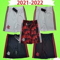TOP Thailand 2021 2022 flamengo soccer shorts PATAMÁ GUERRERO DIEGO VINICIUS JR GABRIEL 21 22 flamenco home away third white red Football pants