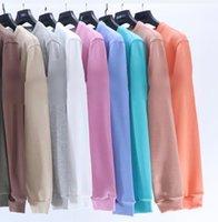 2021 Brand Autumn Winter Long Sleeve Hoodies Lovers Style Round Neck T Shirt Hoodie Embroidery Armband ICON Necessary #UT604 Men's Sweatshirt