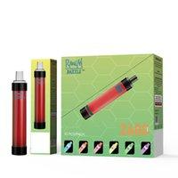 Original randm dazzle pro disposable E cigarettes pod device 2600puff vape pen system Colorful led Light 1100mah battery 8ml Prefilled Portable Vapor