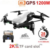 Discount fpv brushless quadcopter FEMA Gimbal Drone camera Hd 4K Two-axis F8 5G Wifi FPV H3 RC Quadrocopter Brushless GPS Quadcopter Dron Professional VS SG906PRO