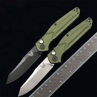 BENCHMADE BM9400 9400BK AUTO Osborne Folding Knife S30V blade aluminum alloy handle Outdoor camping hunting survival 940 943 KNIVES