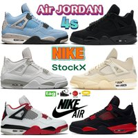 Air Jordan 4 4s white oreo high basketball shoes university blue x sail black cat bred what the men sport trainers noir guava ice SP Taupe Haze women sneakers